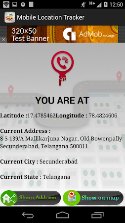 Live Mobile address tracker 1.9.23 screenshot 254766