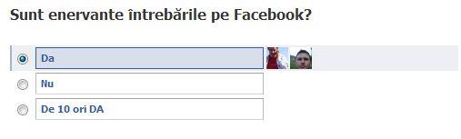 intrebari Facebook
