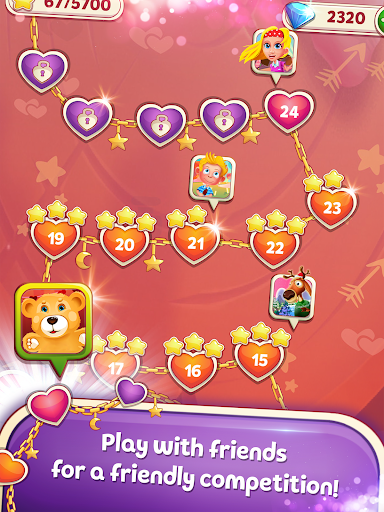 Sweet Hearts - Cute Candy Match 3 Puzzle  screenshots 15