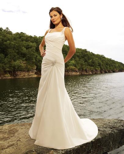 Beach Destination Wedding Gowns 2010