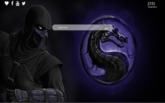 Mortal Kombat 11 Wallpaper HD New Tab