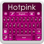 Hot Pink Keyboard