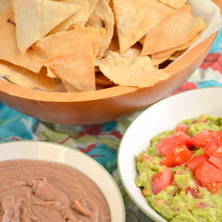 Refried Beans and Guacamole