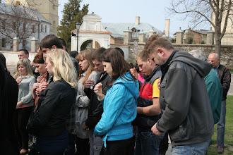 Photo: Молодь бере участь в молитві за збереження природи
