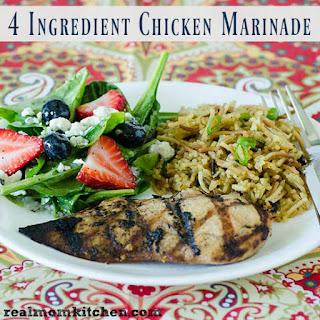 4 Ingredient Chicken Marinade