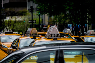 Photo: Just a simple shot of some taxi cabs in New York City, taken somewhere in Midtown. Looks better when viewed large.  #BreakfastClub curated by +Gemma Costa