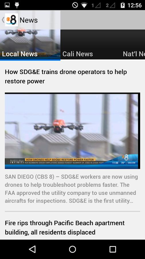 CBS 8 San Diego News - screenshot