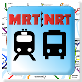 Singapore MRT & LRT MAPS