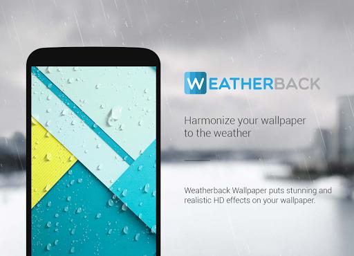 weatherback 天氣壁紙