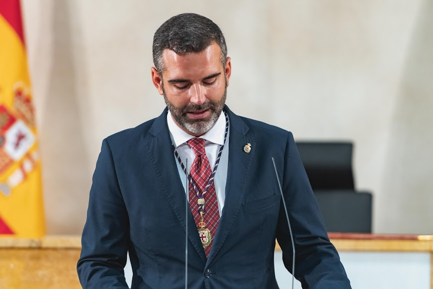 Intervención del alcalde de Almería, Ramón Fernández-Pacheco.