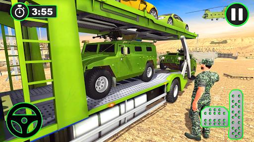 Army Vehicles Transport Simulator:Ship Simulator screenshot 13
