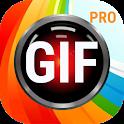 GIF Maker, GIF Editor, Video to GIF Pro icon