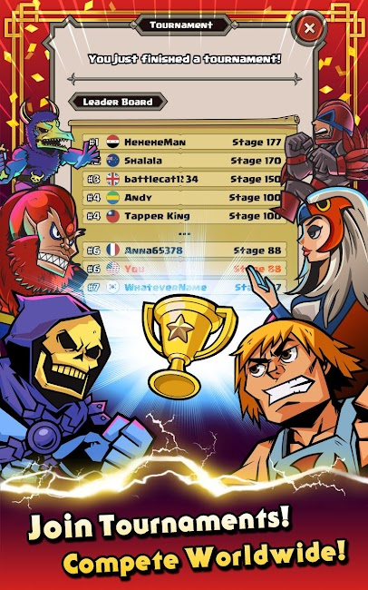 #1. He-Man™ Tappers of Grayskull™ (Android)