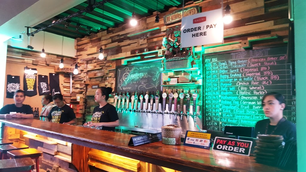 THE TASTING ROOM AT BAGUIO CRAFT BREWERY TAP STATION