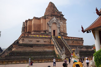 Photo: Wat Chedi Luang, tallest building for 500 years