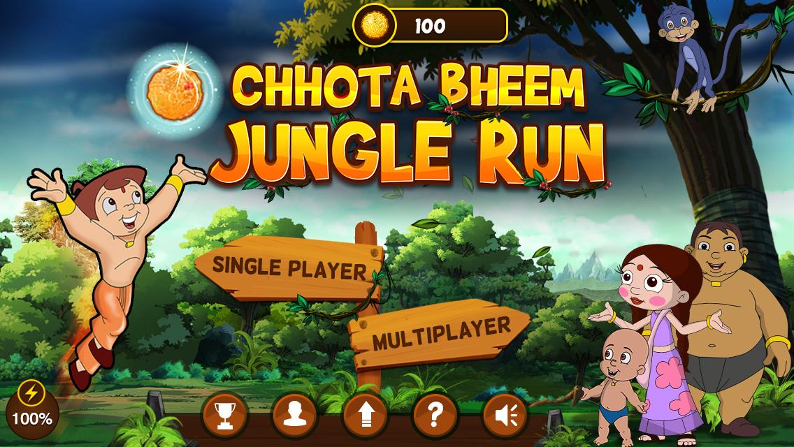 Chhota Bheem Jungle Run Game Android App on Google Play