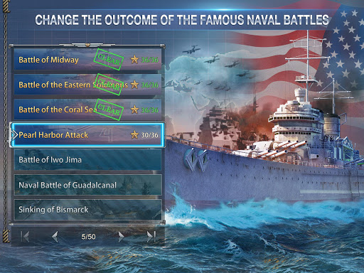 Battleship Empire: WW2 Naval Battles and Warships 1.0.2 gameplay | by HackJr.Pw 8