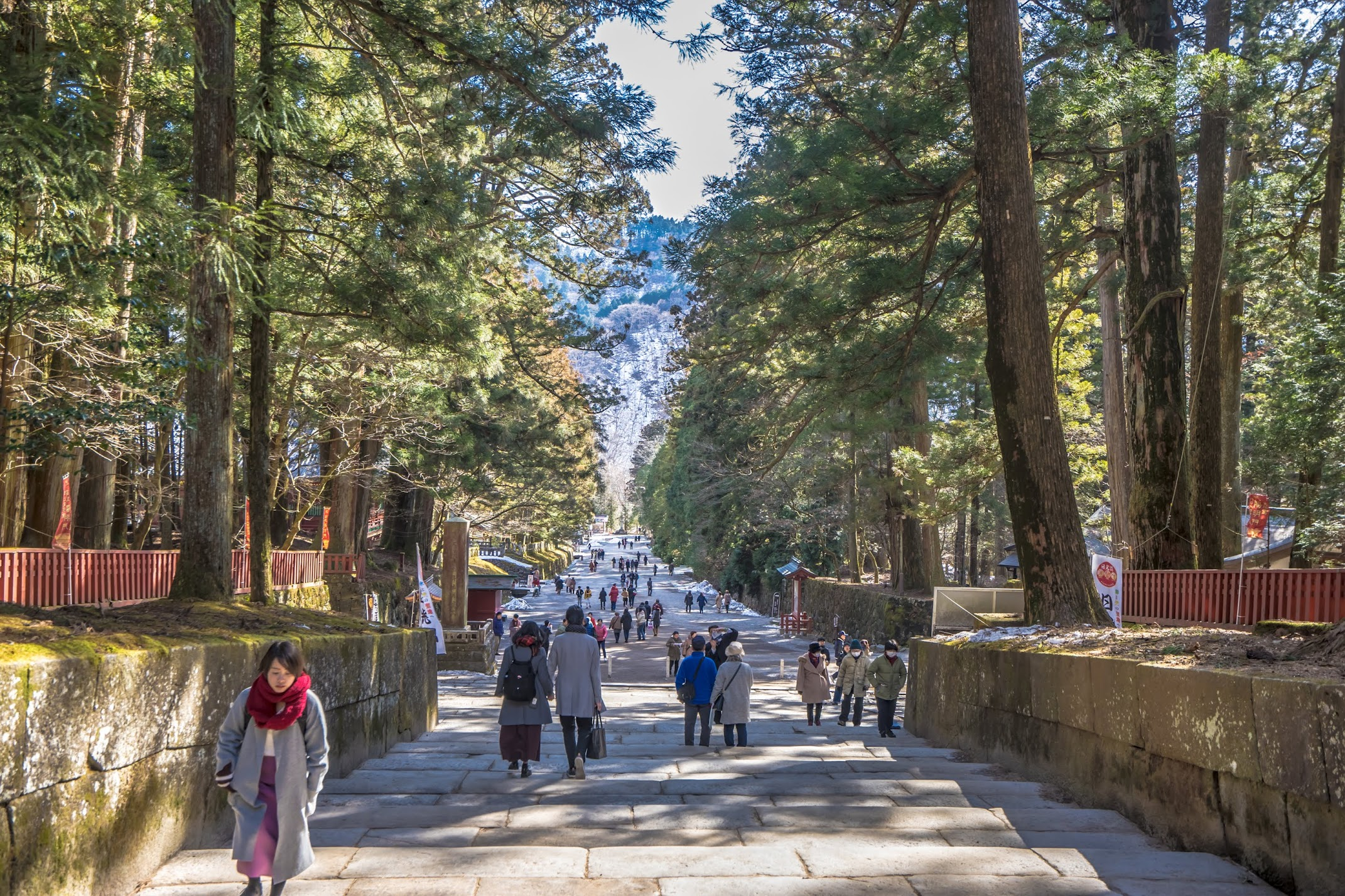 Nikko Toshogu Shrine approach2