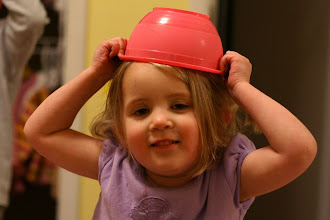 Photo: Emmy with bowl hat