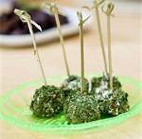 Celery Balls Appetizer Recipe