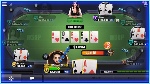 WSOP Poker - Texas Holdem screenshot 10
