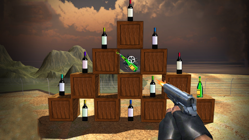 Capturas de pantalla de Bottle Shooting Master Game 3D 8