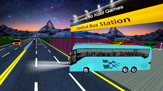 Coach Bus Simulator Driving 2: Bus Games 2020  Apk Download For Android and Iphone 3