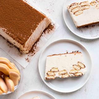 Tiramisu Ice Cream Cake.