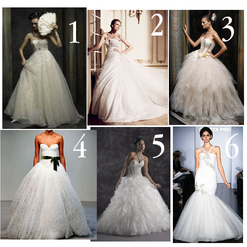 Bridal Wedding Dresses 2010