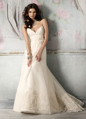 Elegant Wedding Bridal Dress