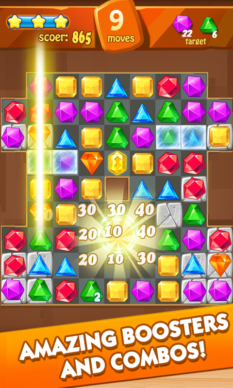 Screenshots of Jewels classic Prince 2 for iPhone