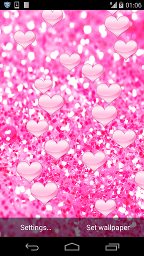 Love Hearts HD Live Wallpaper