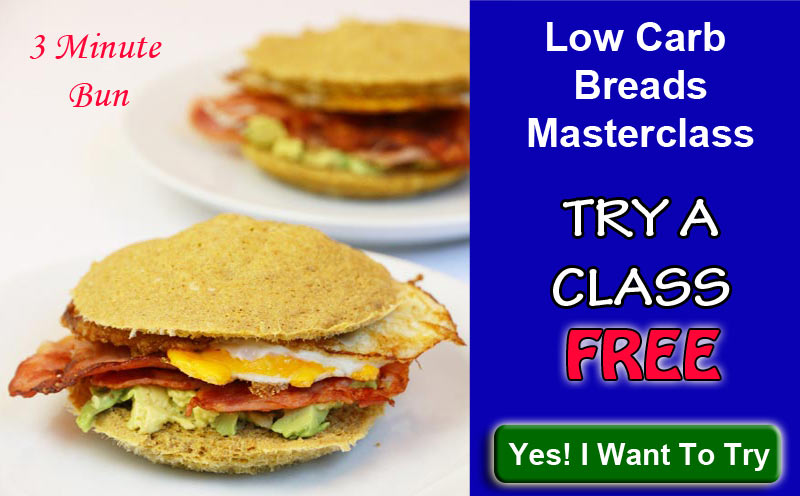Click Here To Get A Free Low Carb Breads Baking Course
