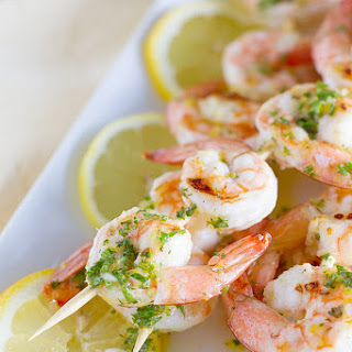 Lemon Shrimp Kabobs.