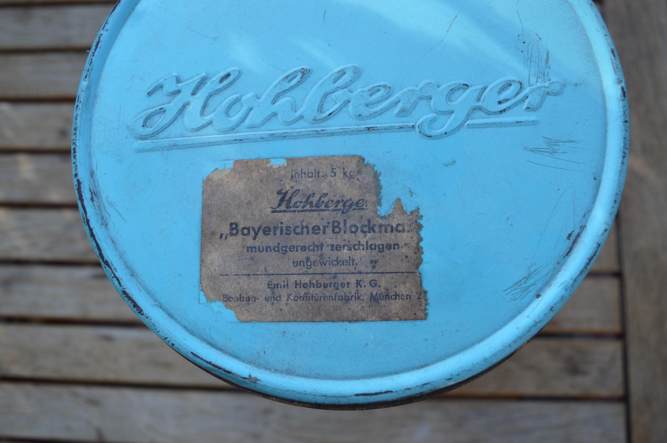 Echt Hohberger's Bayrischer Blockmalz-Zucker garantiert aus München