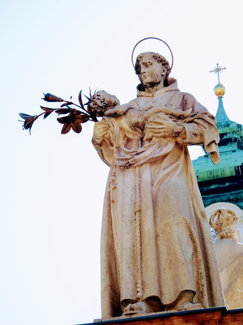 Győr - Mária-oszlop a Széchenyi téren