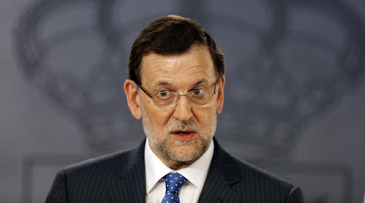 Spanish Prime Minister Mariano Rajoy. Picture: REUTERS
