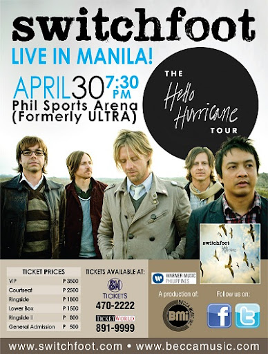 Switchfoot manila concert