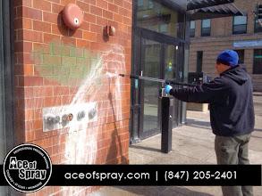 Photo: Graffiti Removal | http://www.aceofspray.com/aces-graffiti-removal-team-hard-work/ | Chicago, IL