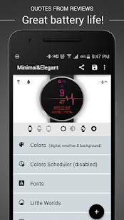 Watch Face - Minimal & Elegant Screenshot 15