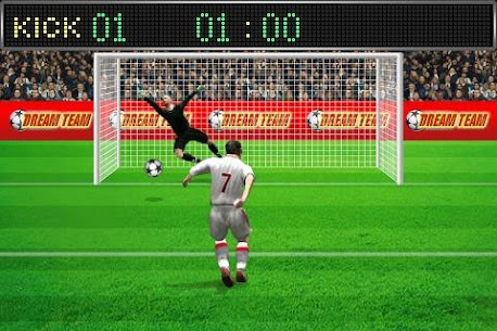 Football penalty. Shots on goal. 7