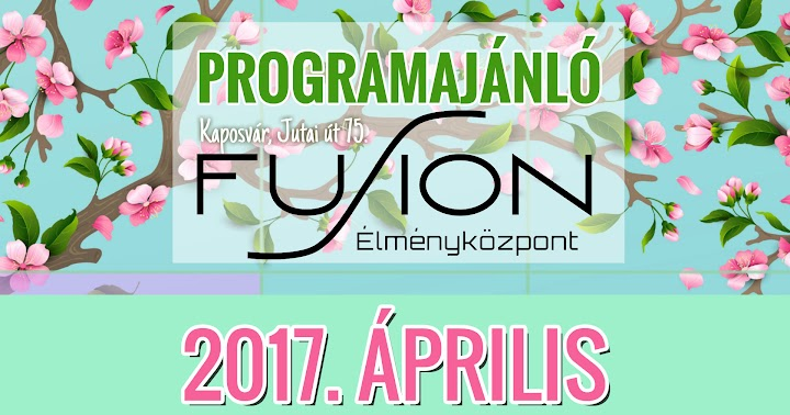 Programajánló 2017 április - Kaposvár