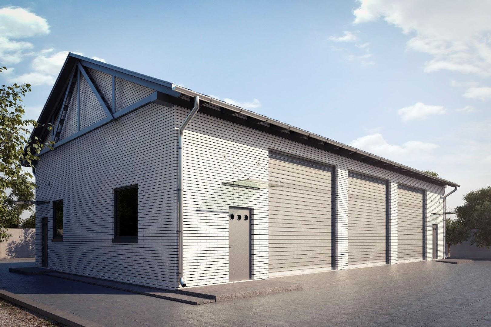 Projekt Garażu G166 Tmy 518 18964m²