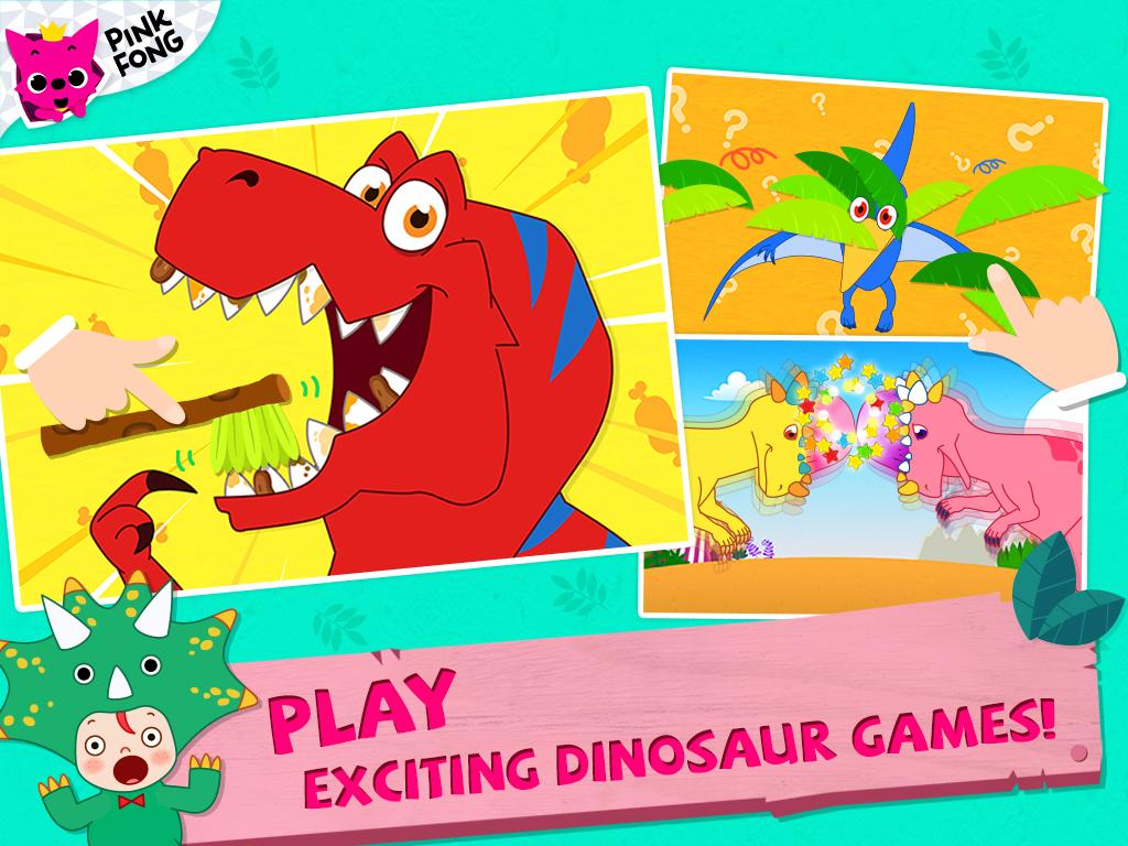 PINKFONG Dino World- screenshot