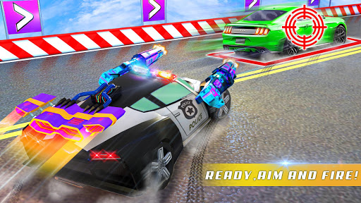 Police Car Chase GT Racing Stunt: Ramp Car Games android2mod screenshots 12