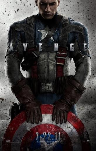 โปสเตอร์ Captain America: The First Avenger