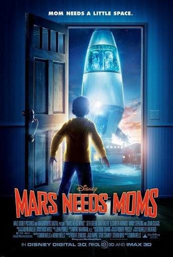 โปสเตอร์ Mars Needs Moms