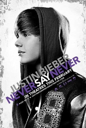 โปสเตอร์ Justin Bieber: Never Say Never