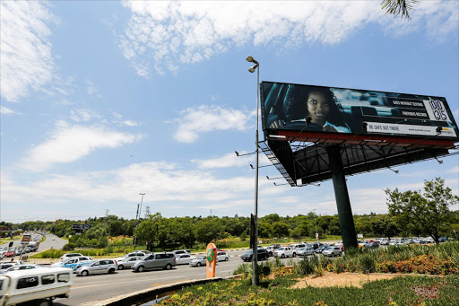 Roadside billboards are used for out-of-home advertising. Picture: THE TIMES