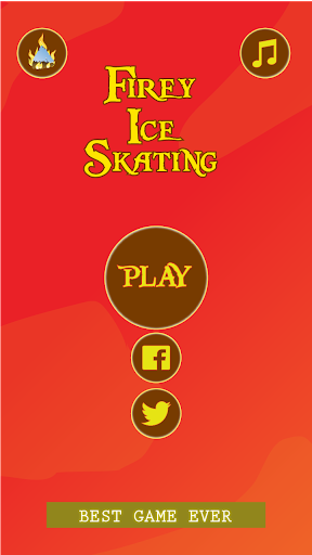 Firey Ice Skating
